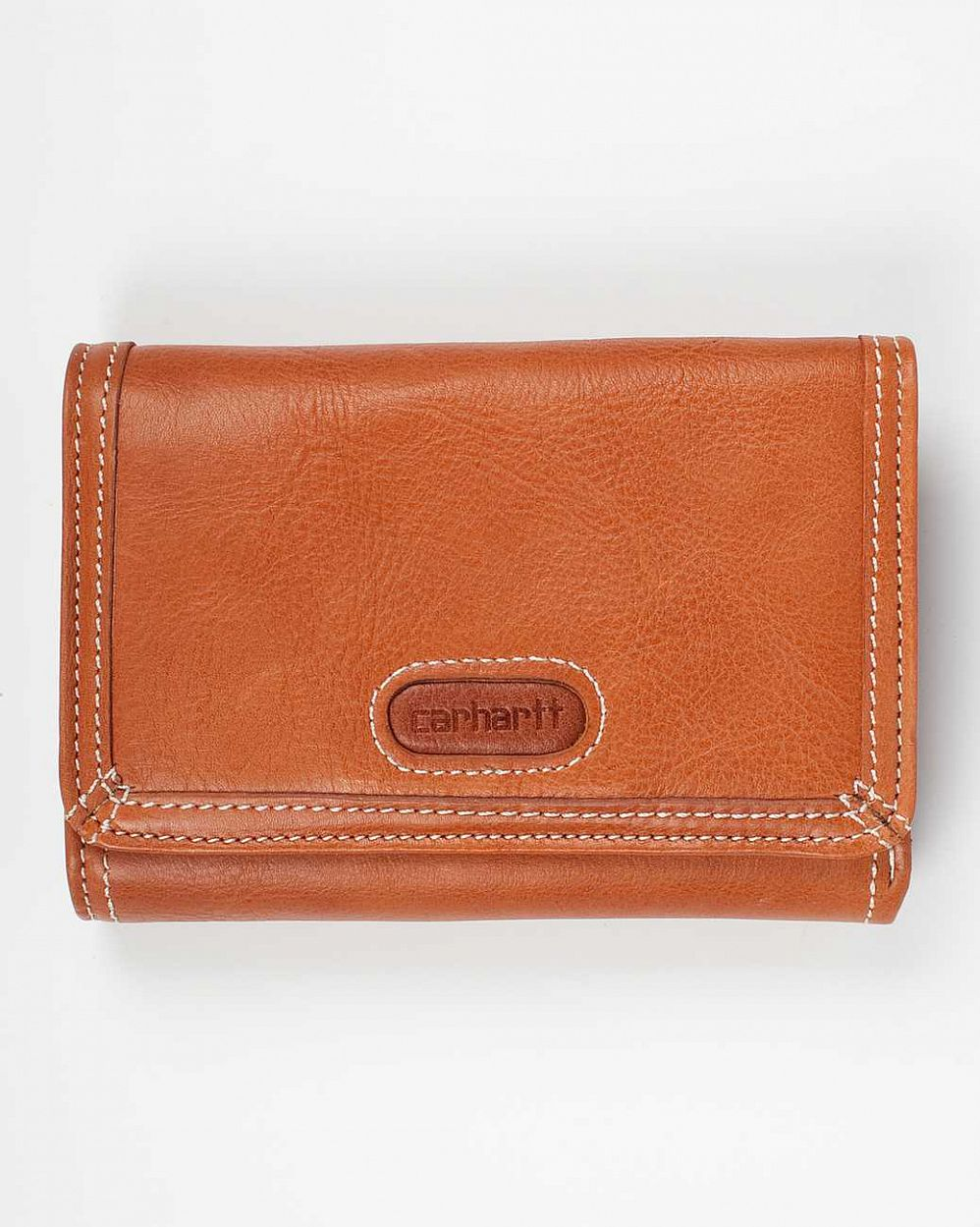 Кошелек Carhartt USA Woy Wallet Genuine Leather Brown цена в Москве