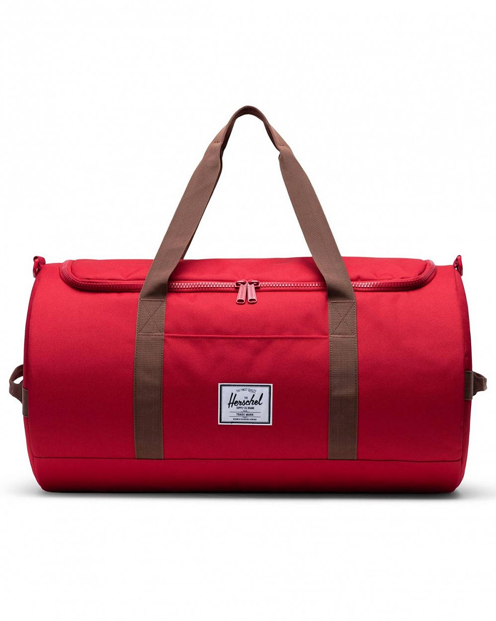 Сумка спортивная Herschel Sutton New Red Saddle Brown отзывы
