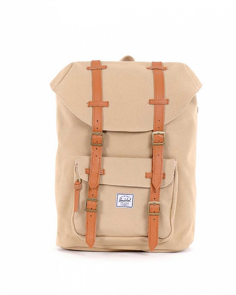 купить Рюкзак Herschel Little America Mid-Volume Canvas Khaki в Москве