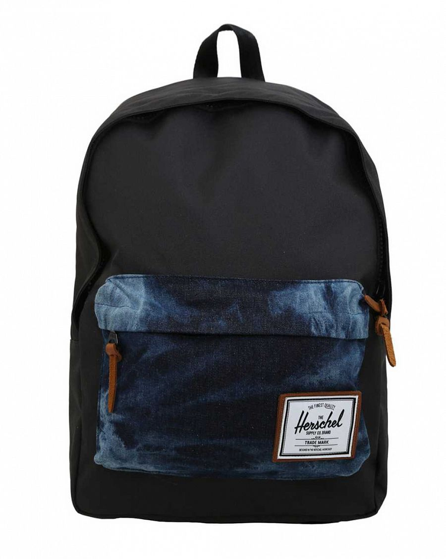 Рюкзак Herschel Deerfield BHW Black Acid Denim отзывы