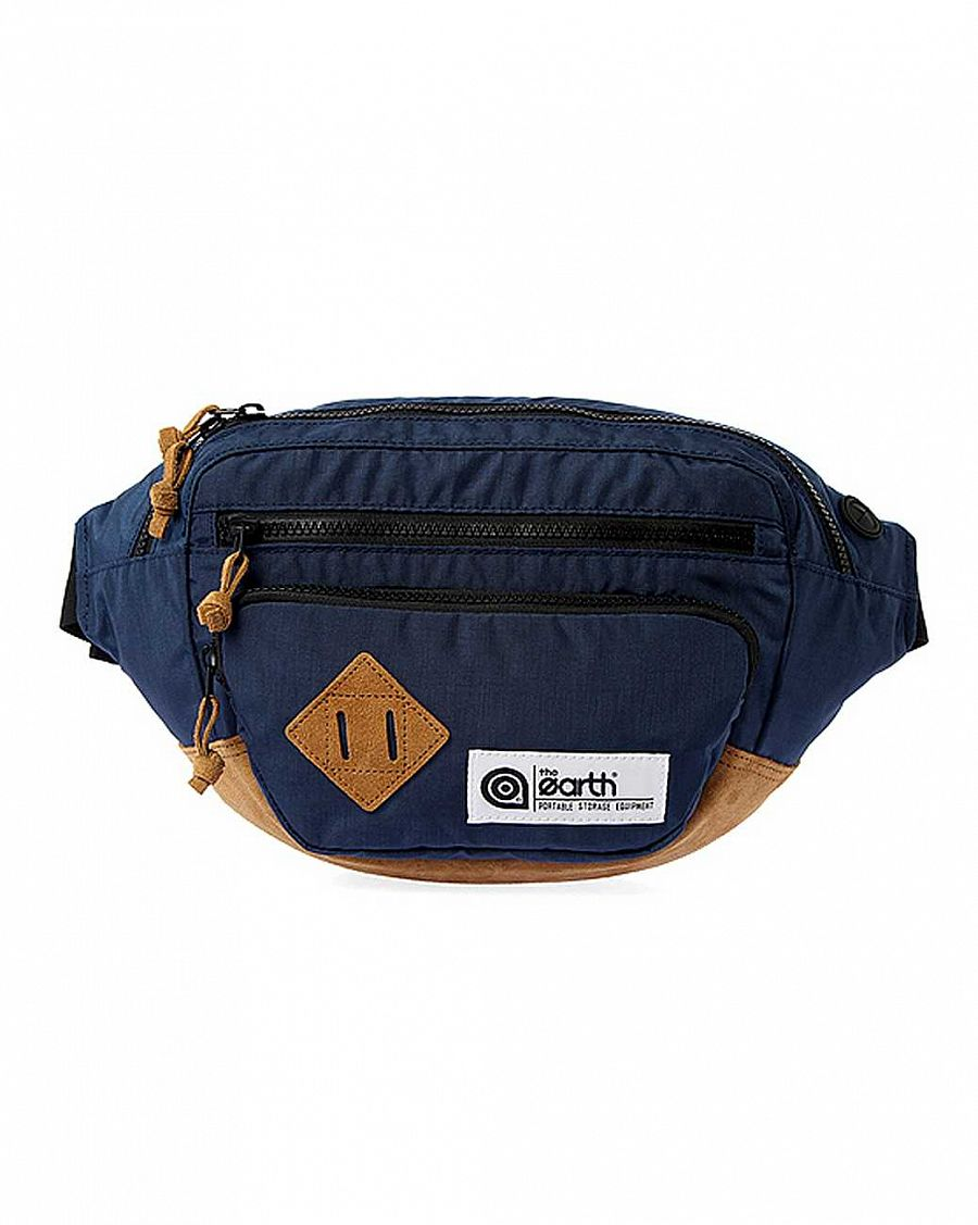 Поясная сумка The earth Company Outdoor 3L Waist Bag navy отзывы