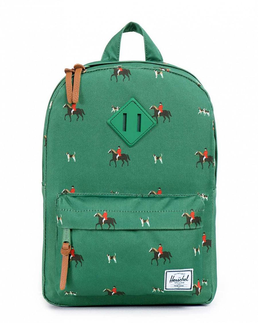 купить Рюкзак Herschel Heritage Kids Sunday Emerald Rubber в Москве