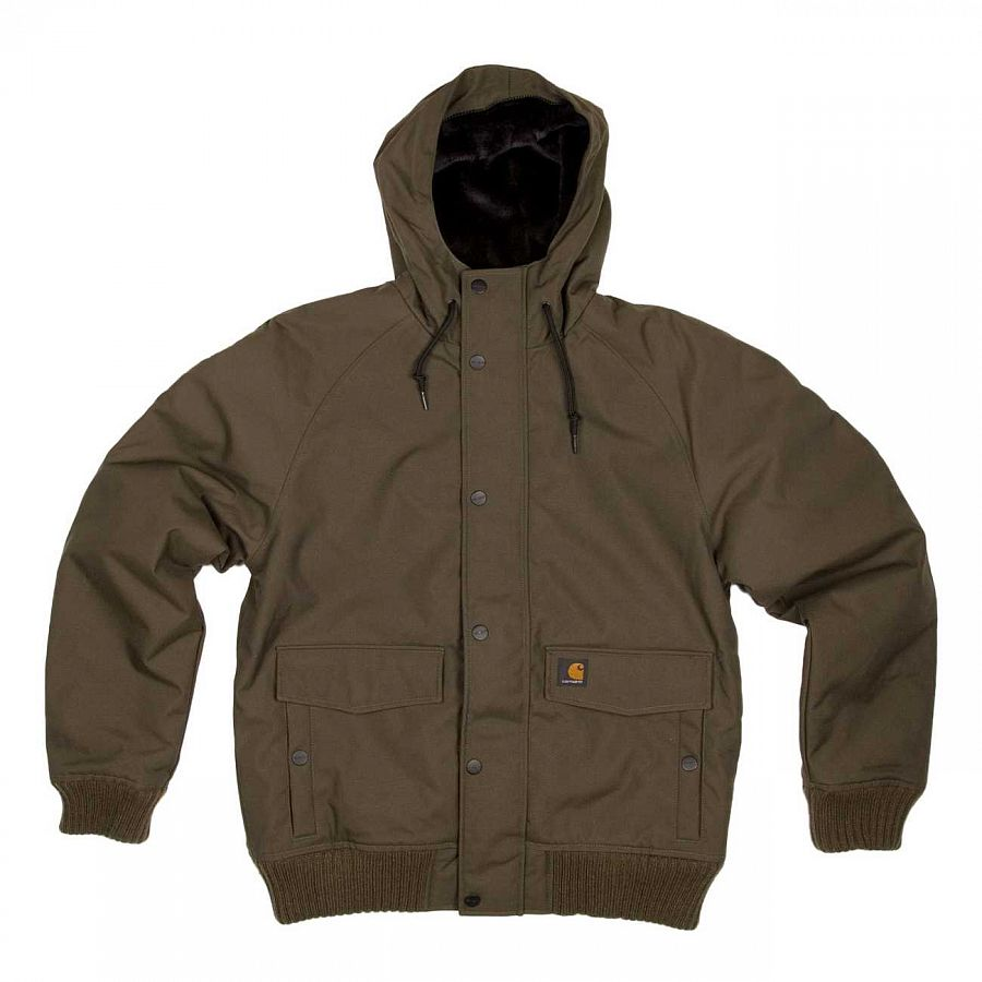 Куртка Carhartt Tahoe Jacket Cypress\black отзывы