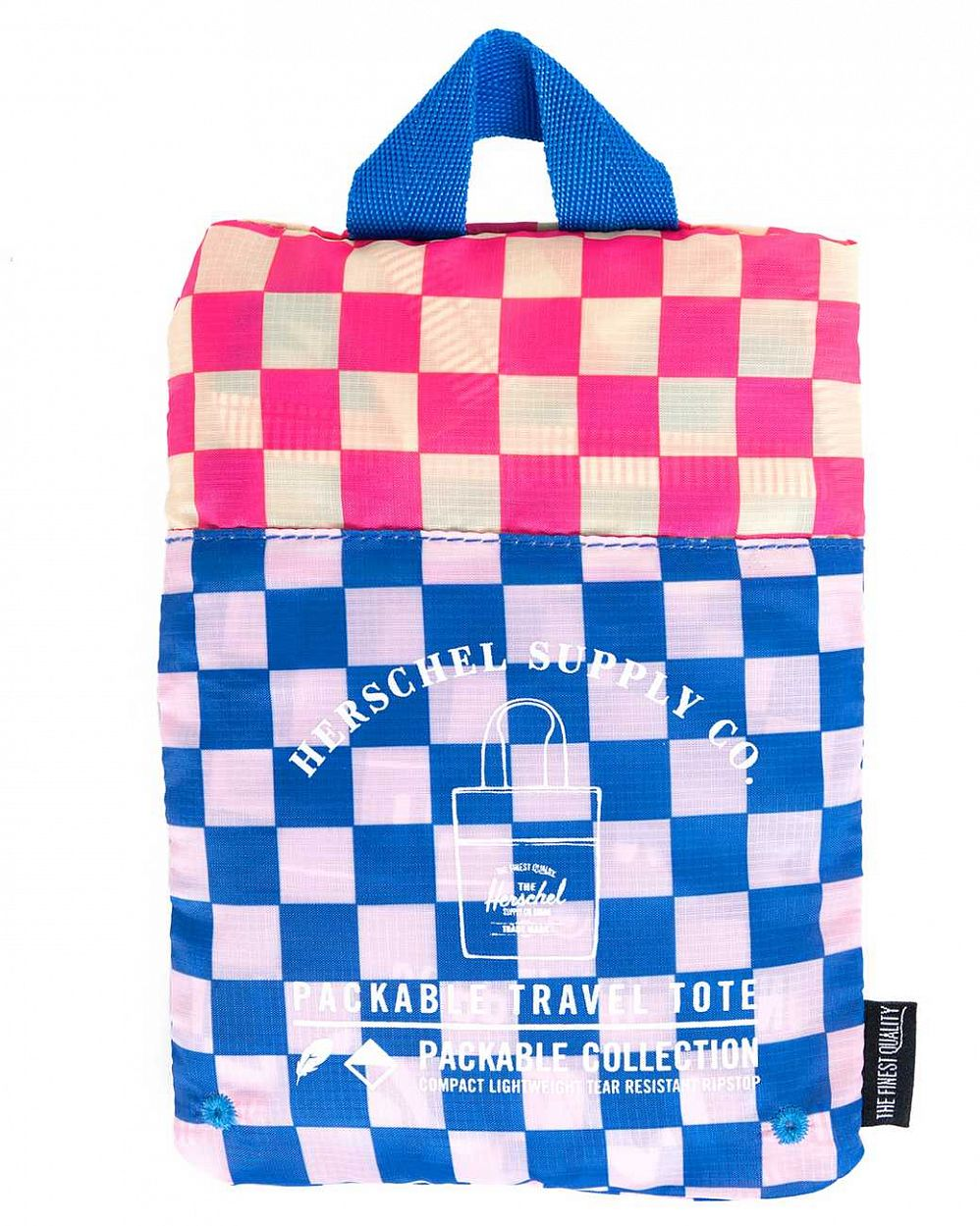 Сумка складная Herschel Packable Travel Tote Bag Cobalt Picnic купить в интернете