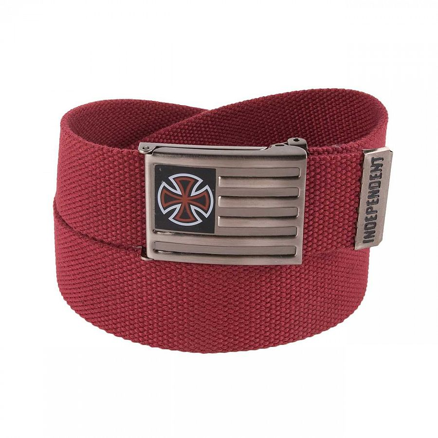 Ремень Independent Cliped Web Belt red отзывы
