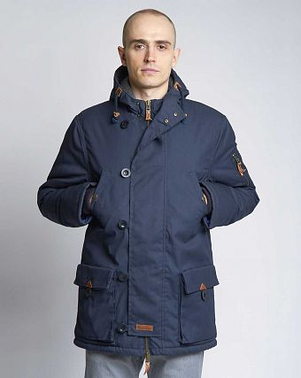 Куртка-парка Knowledge Cotton Apparel 92061 Dark Navy