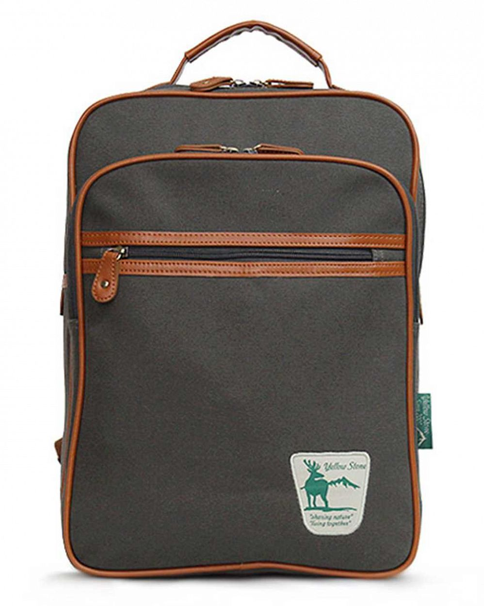 купить Рюкзак YellowStone Canvas Backpack II ash grey YS Originals в Москве