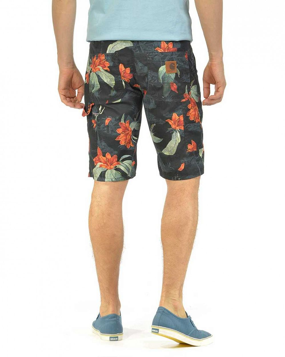 Шорты бермуды Carhartt WIP Lincoln Knee Milford Twill 5 Oz Tropic Print цена в Москве
