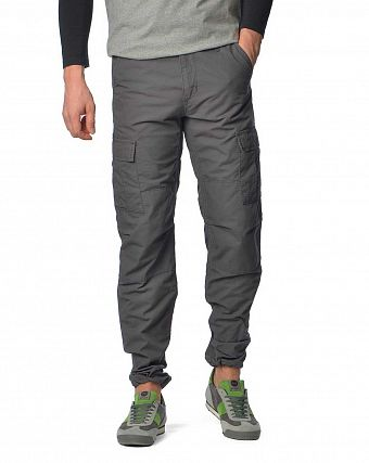Брюки зауженные Carhartt WIP Aviation Regular Ripstop 6,5 Oz Blacksmith