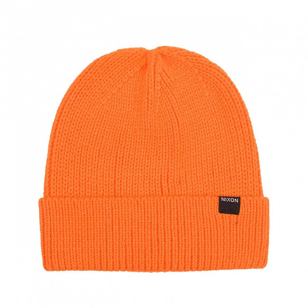 Шапка Nixon Regain Beanie Orange отзывы