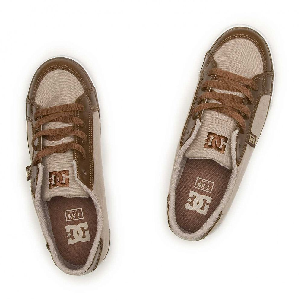 Кеды DC Shoes Empire TX Brown купить в интернете