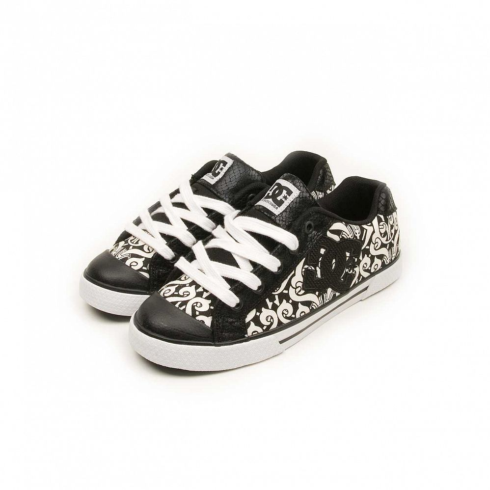купить Кеды DC Shoes Chelsea W'S Black Black White в Москве