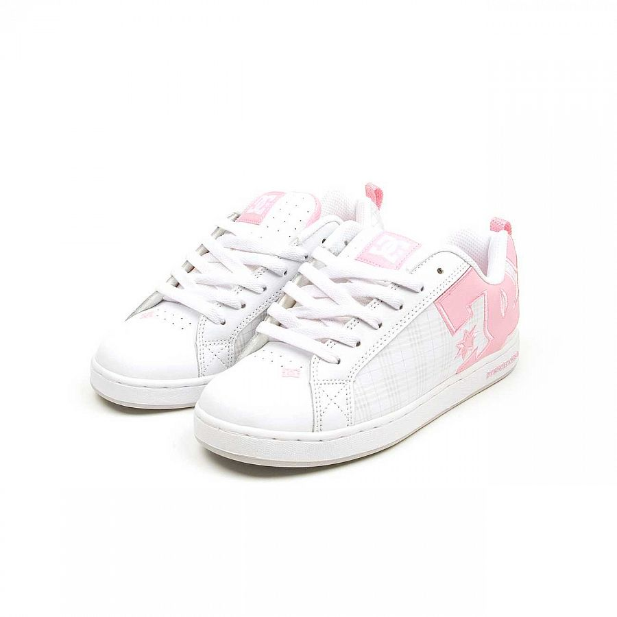 купить Кеды DC Shoes Court Graffik W'S SE Shoe White/lt Grey в Москве