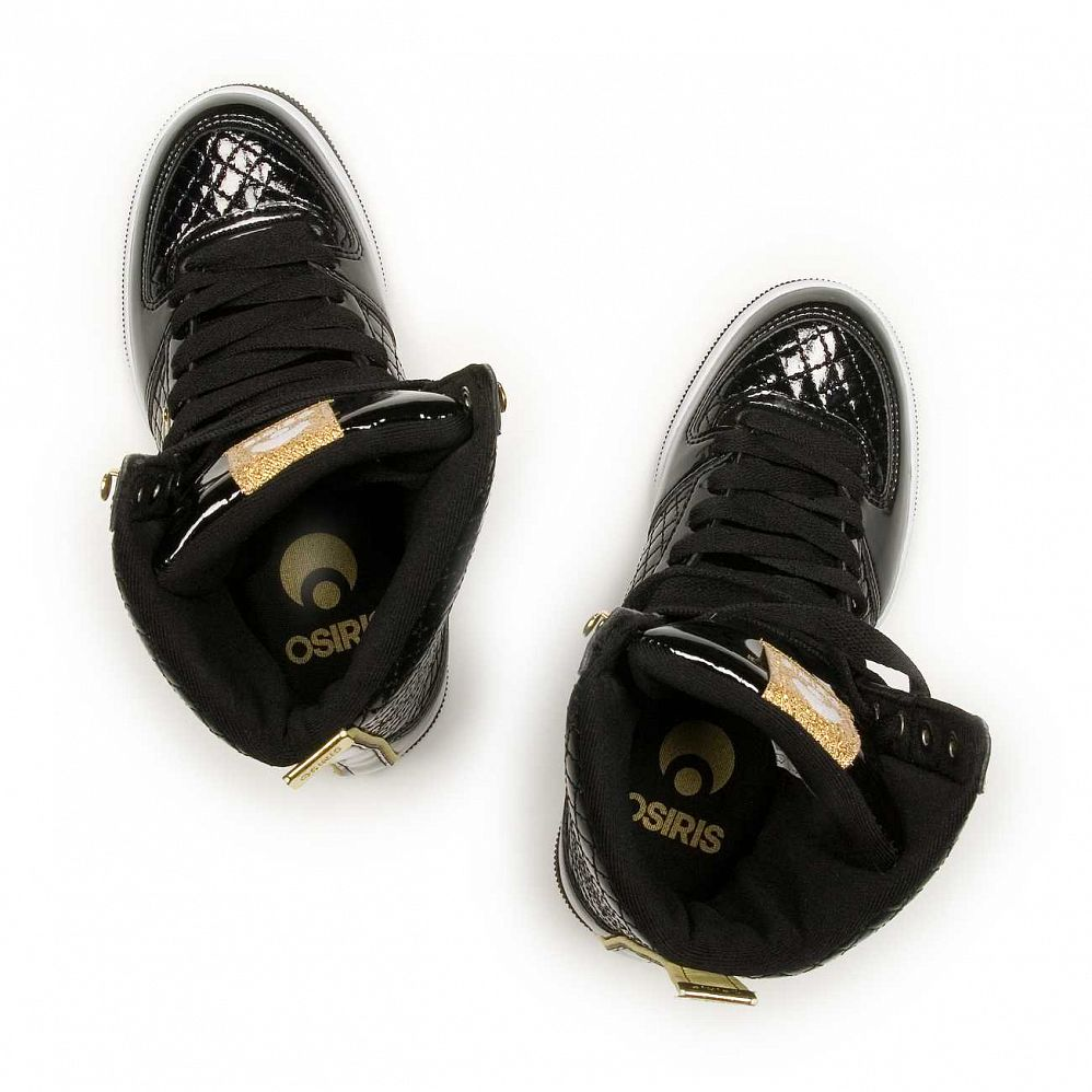 Кеды Osiris Uptown Limited W'S Blk/gold/quilted купить в интернете