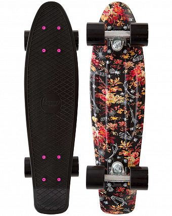 Пенни борд рыбка Penny Original 22 LTD Floral Black