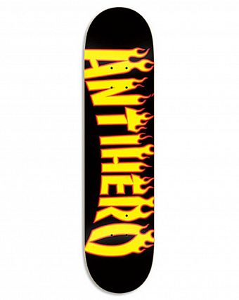 Дека Anti-hero BRD FLAMING SKATE Black