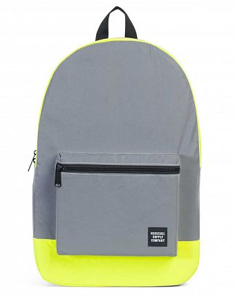 Рюкзак складной Herschel Packable Daypack - 3M Silver Reflective Neon Yellow