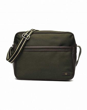 Сумка Fred Perry L5209 Classic Canvas Shoulder Bag Hunting Green