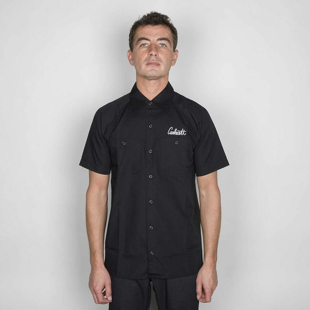 Рубашка Carhartt S\S Gateway Shirt Night отзывы