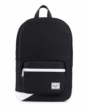 Рюкзак Herschel Pop Quiz Mid-Volume Black Black PU White Print