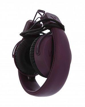 a5ef6c9fe79e ... Наушники с микрофоном проводные складные WeSC Piston Burgundy ...