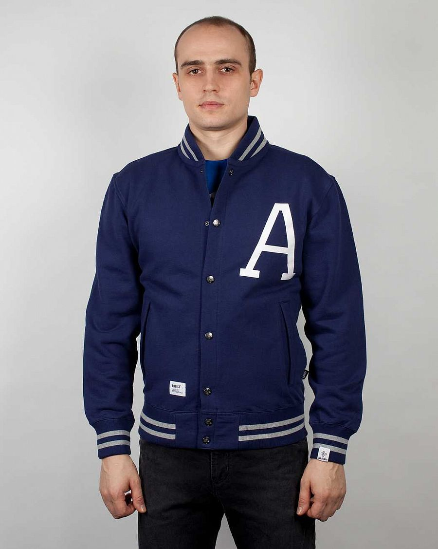 Толстовка Addict Ivy League Sweat Blue-340 отзывы