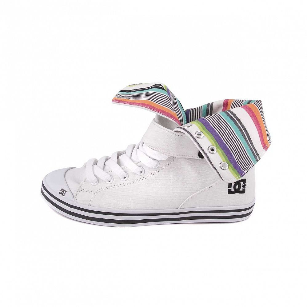 Кеды DC Venice HI Womens Shoe White/black отзывы