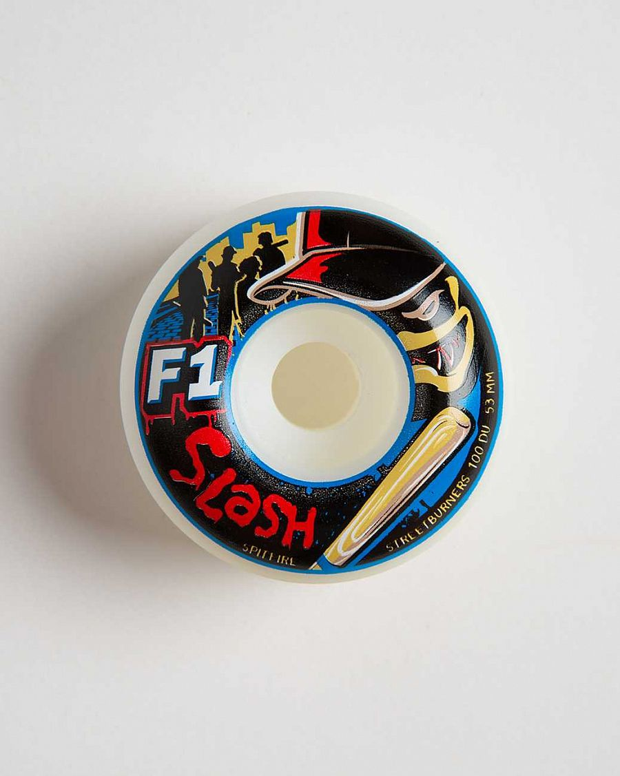 купить Колеса Spitfire F1 Street Burners Slash G.War White в Москве