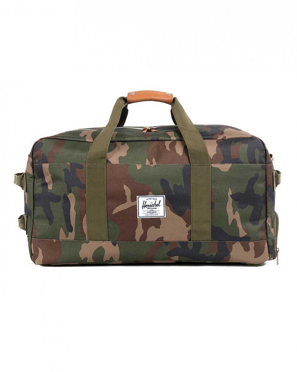 купить Сумка Herschel Outfitter Woodland Camo Orange Rubber в Москве