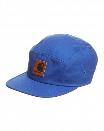 Бейсболка Carhartt 5 Panel Backley Cap Royal penny