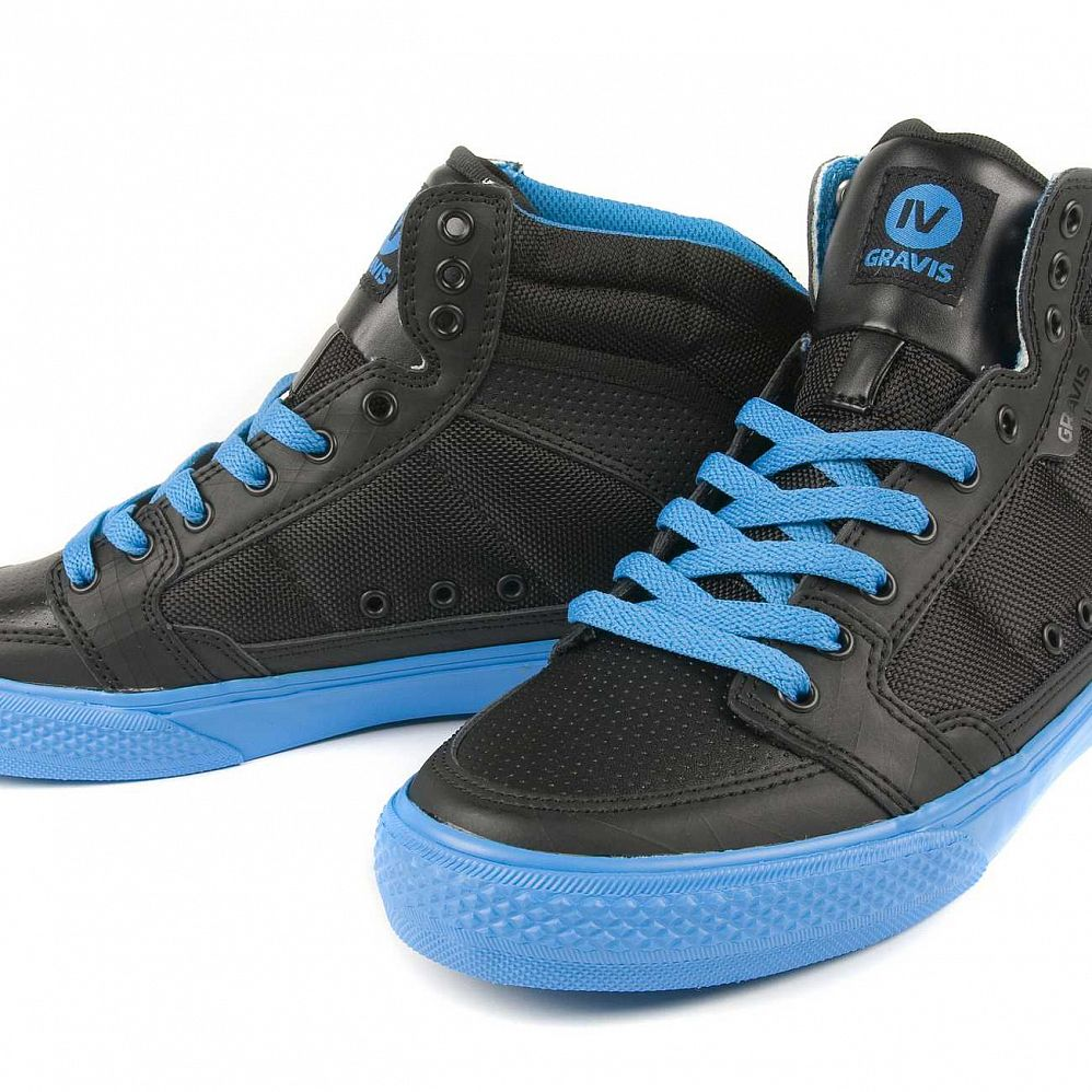 Кеды Gravis Lowdown HC LE MNS Black IV Blue купить в интернете