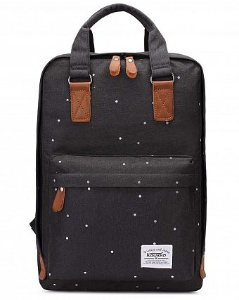 Рюкзак городской Kaukko Authentic Bags Co.Ltd K1007 Black