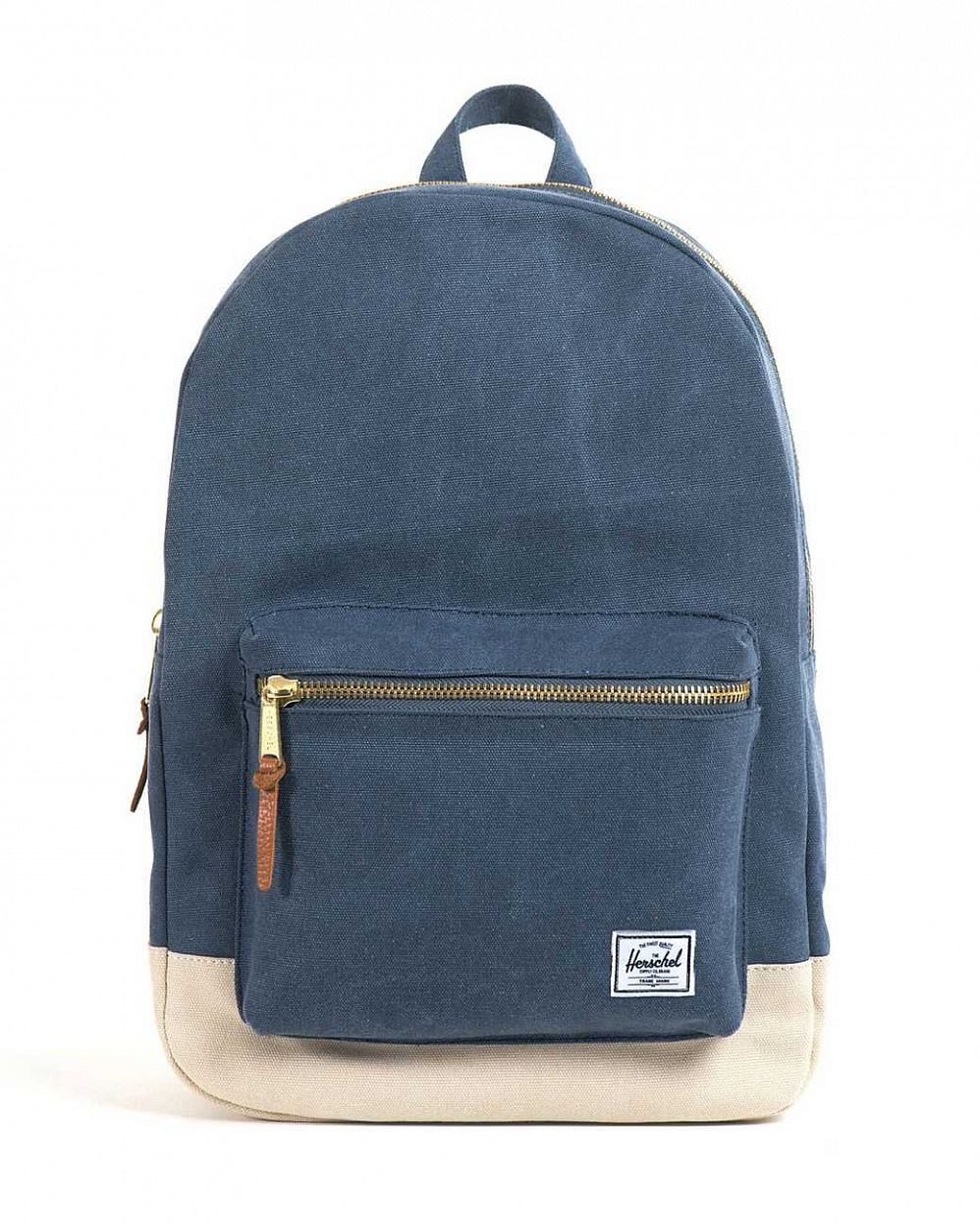 купить Рюкзак Herschel Settlement Canvas Washed Navy Natural в Москве