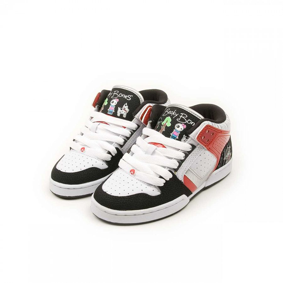 купить Кеды Osiris South Bronx W'S Lucy Lies/soak/wht/blk/red. в Москве