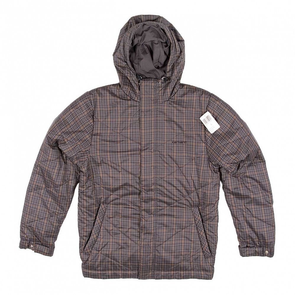Куртка Carhartt Kipnuk Venice Jacket Steel Orange Check отзывы