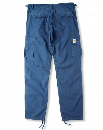 Брюки зауженные Carhartt WIP Aviation Regular Ripstop 6,5 Oz Federal