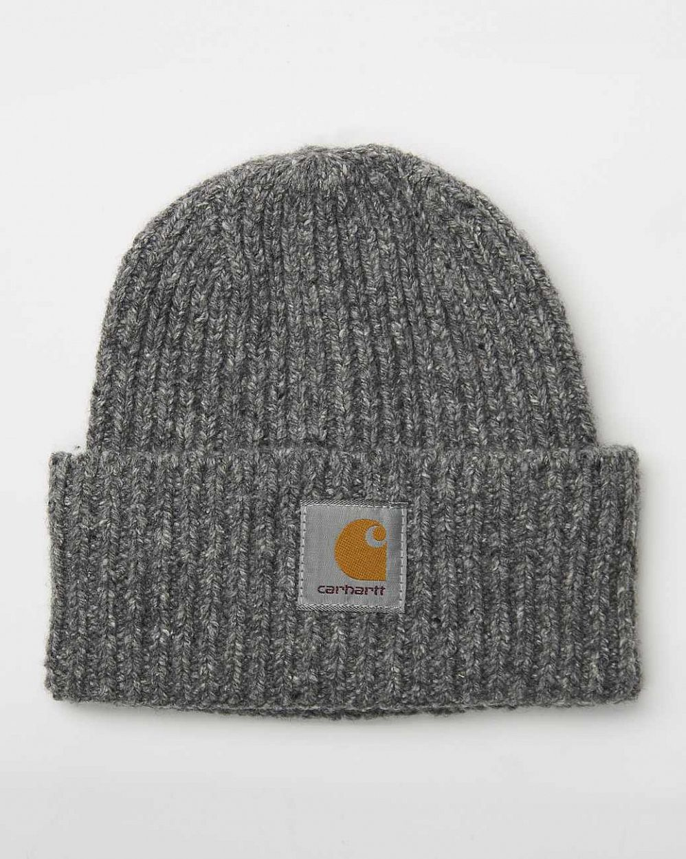 Шапка Carhartt Anglistic Beanie Dark Heather Grey отзывы