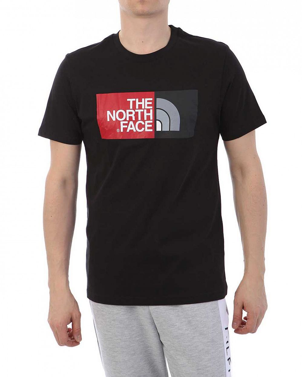 Футболка The North Face 000035527 Black Red отзывы