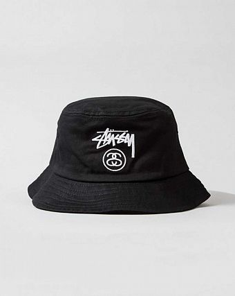 Панама Stussy Stock Lock Bucket Hat Black