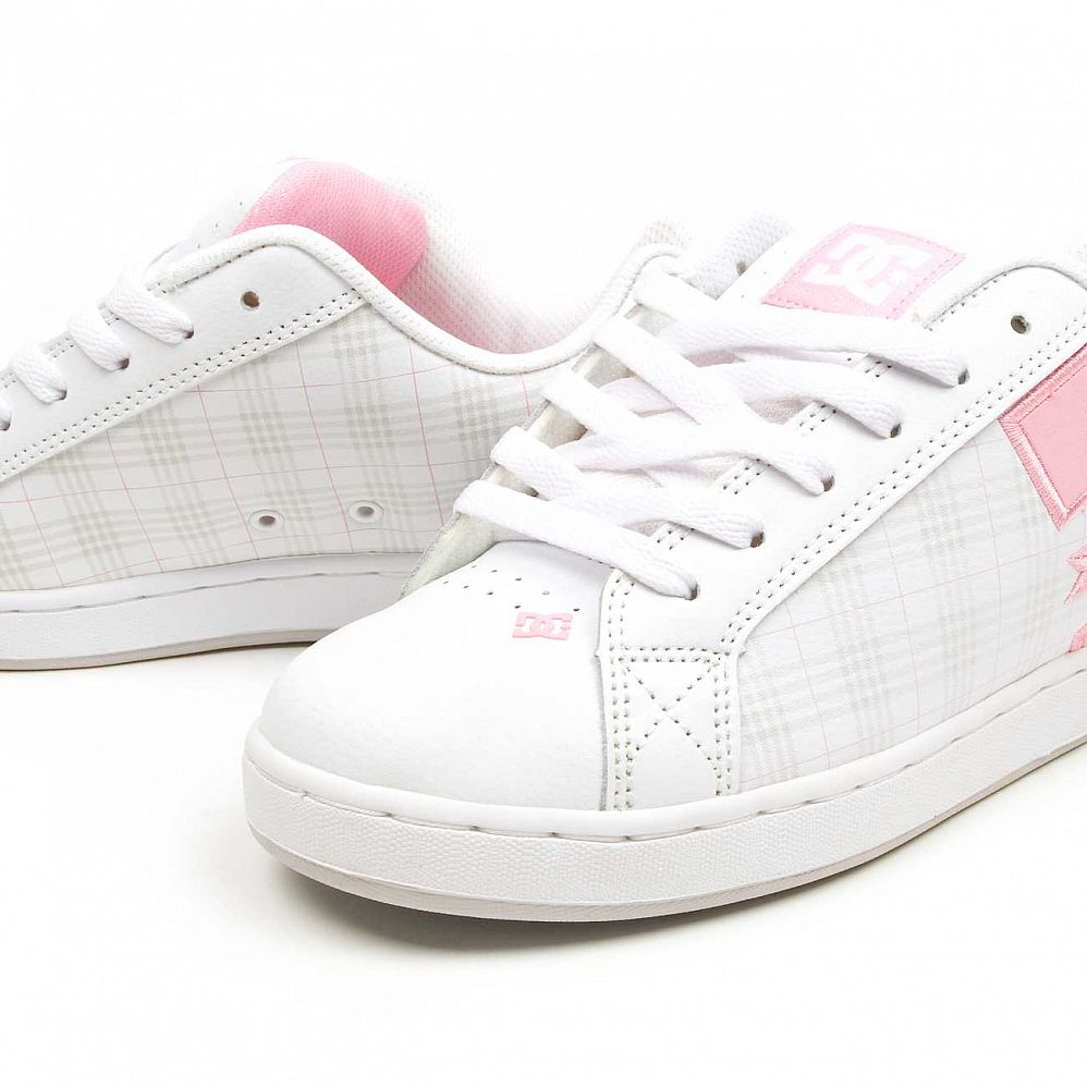 Кеды DC Shoes Court Graffik W'S SE Shoe White/lt Grey цена в Москве