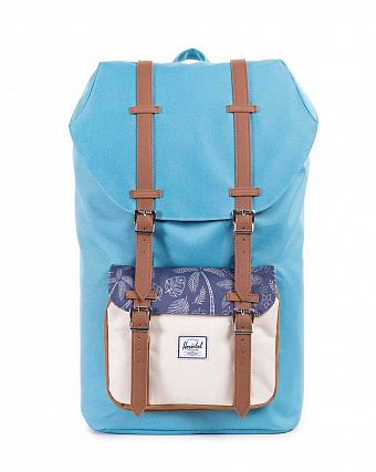 Рюкзак-мешок Herschel Little America Shallow Sea Natural Kingston Caramel