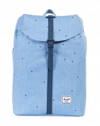 Рюкзак-мешок Herschel Post Scattered Chambray Navy Rubber