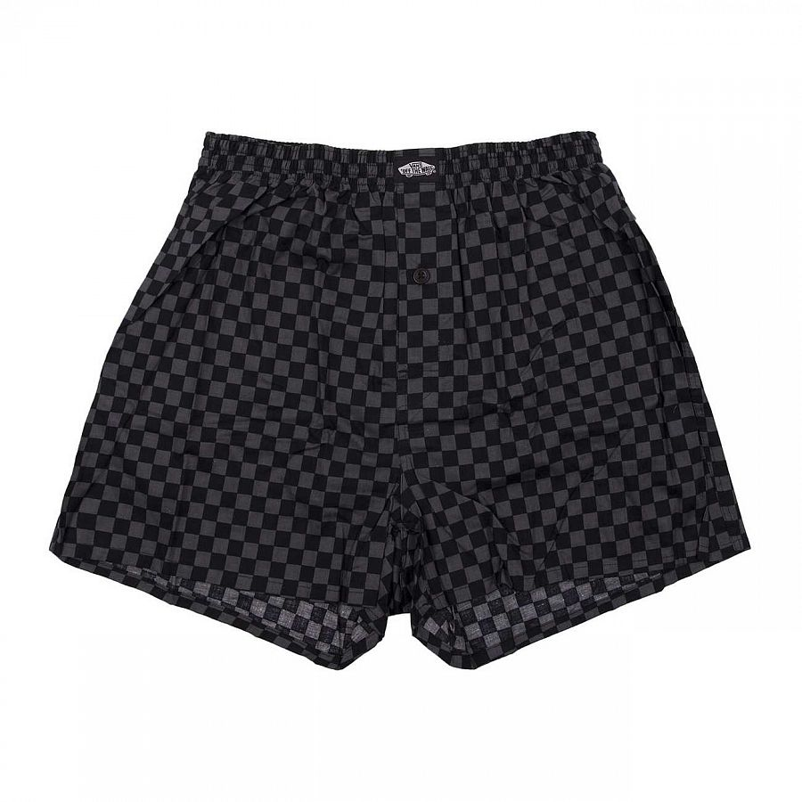 купить Трусы Vans Basic Check Boxer Black/gunmetal Grey в Москве