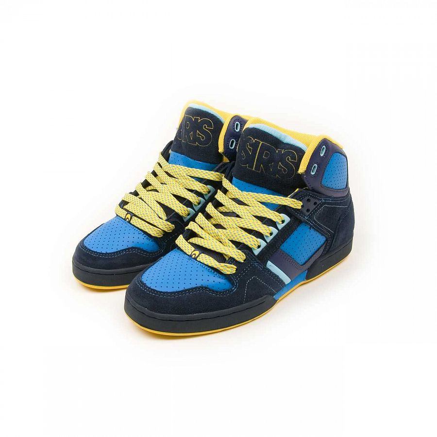 Кеды Osiris Bronx Slim Blue yellow отзывы