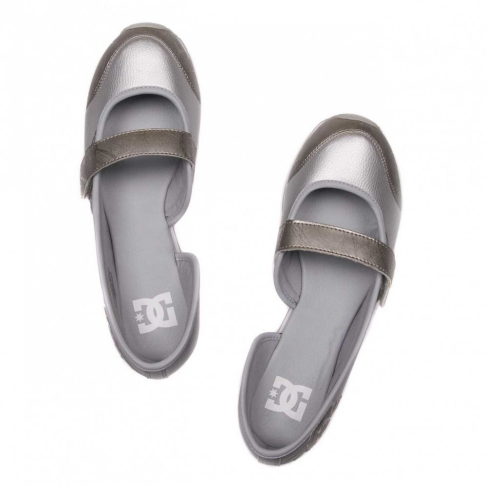 Кеды DC Shoes Robertson W'S Metallic Silver купить в интернете