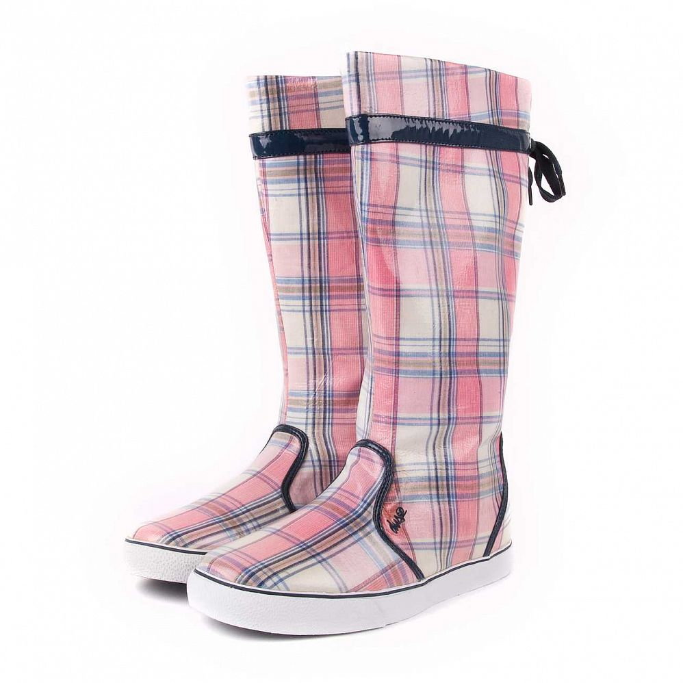 Сапоги DVS Savannah Fa R wmn Pink Plaid Rain отзывы