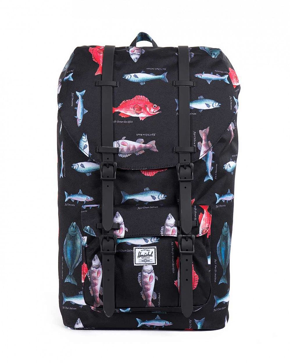 купить Рюкзак Herschel Little America Pacific Black Rubber в Москве