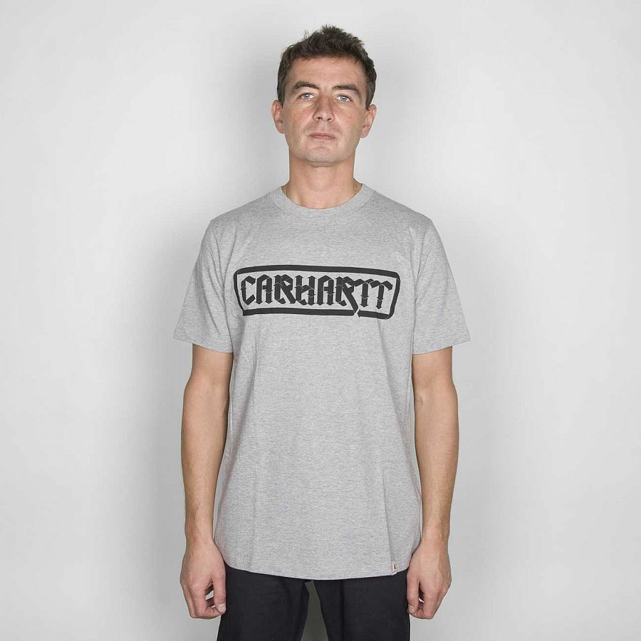 купить Футболка Carchartt S/S BE Natural T/S Grey в Москве