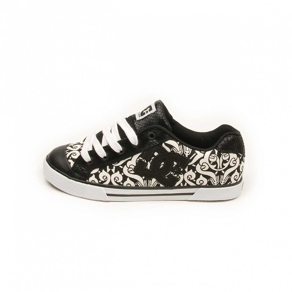 Кеды DC Shoes Chelsea W'S Black Black White отзывы