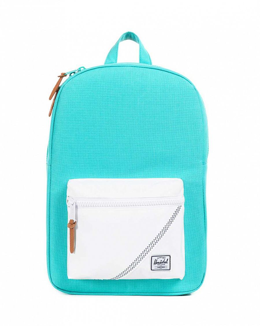 купить Рюкзак Herschel Settlement Mid-Volume Mark Teal White Racing Red в Москве